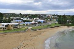 往坎贝尔港,澳大利亚的看法 库存图片