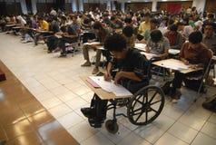 往研究的印度尼西亚高等教育 免版税库存照片