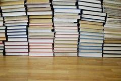 很多不同的书 库存图片