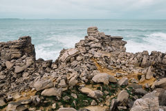 很多小石头 免版税图库摄影