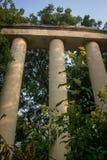 很多的罗马建筑学 库存照片