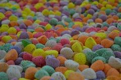 很多糖果 免版税库存照片