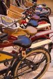 很多自行车 免版税库存照片