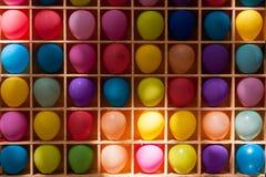 很多色的球 免版税库存图片