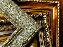 很多长方形宝石框架 免版税图库摄影