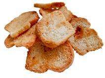 很多饼干洒与糖 免版税库存图片