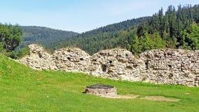 很好水源对历史的城堡 库存图片