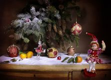 很快新年假日! 免版税图库摄影