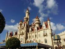很远城堡 库存照片