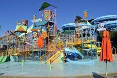 徒步旅行浇灌Aquatica waterpark 免版税库存图片