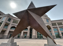 得克萨斯名星 库存图片