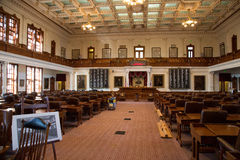 得克萨斯国会大厦众议院  免版税库存照片