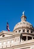 得克萨斯国会大厦圆顶在奥斯汀得克萨斯 库存照片