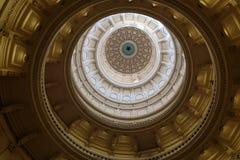 得克萨斯国会大厦圆顶 库存图片