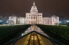 得克萨斯国家资本宽 免版税库存图片