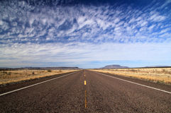 得克萨斯州际高速公路118 免版税库存图片