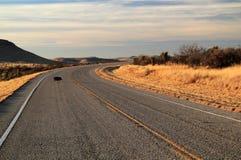 得克萨斯州际高速公路118 库存照片