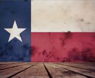 得克萨斯旗子纹理  皇族释放例证