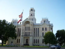 得克萨斯法院大楼 库存图片