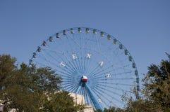 得克萨斯状态公平的弗累斯大转轮 库存照片