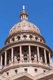 得克萨斯状态国会大厦大厦圆顶 库存照片
