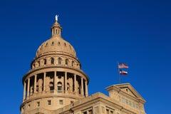 得克萨斯状态国会大厦 库存照片