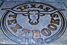 得克萨斯长角牛符号 图库摄影