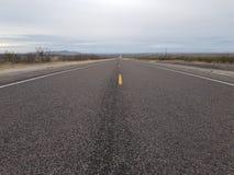 得克萨斯高速公路 图库摄影