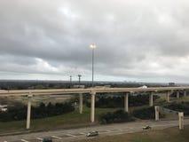 得克萨斯,牛仔偏僻的星和城市的状态 库存图片