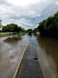 得克萨斯洪水 库存图片