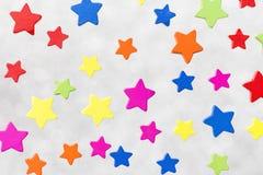 得出准备好的星形向量的背景下载 图库摄影
