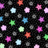 得出准备好的星形向量的背景下载 免版税库存照片