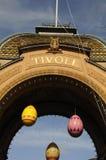 得到正式开幕的TIVOLI庭院ADY 库存图片