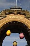 得到正式开幕的TIVOLI庭院ADY 库存照片
