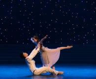 得到沿现代舞蹈我的心脏和灵魂入方式  库存照片