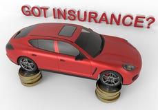 得到的保险? 免版税库存图片