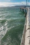 得梅因渔码头2 库存图片