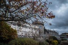 贝得福得城堡关闭都伯林genelogical办公室耸立 免版税库存图片