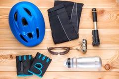 循环和工具的防护辅助部件 库存照片