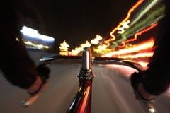 循环在晚上之前 库存图片