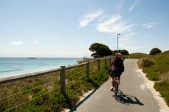 循环在Rottnest海岛上 免版税库存图片