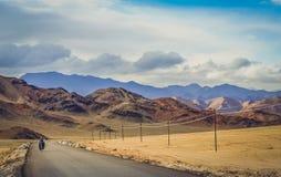 循环往西藏 免版税图库摄影
