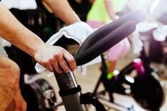 循环户内锻炼 免版税库存图片
