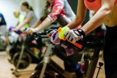 循环户内锻炼 免版税库存照片