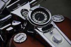 循环拨号马达车速表坦克 免版税图库摄影