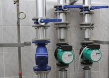 循环泵 免版税库存照片