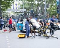 循环的事故 免版税库存照片