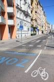 循环的运输路线维也纳 库存图片