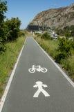 循环英尺路径 免版税库存照片