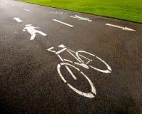 循环路径 免版税库存图片